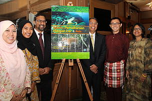 The book launch of 'Islam, Conservation and You' at the Institute of Islamic Understanding Malaysia