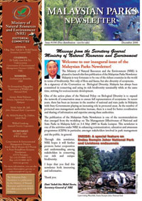 Malaysian Parks Newsletter Issue 01/06 (Dec 2006)
