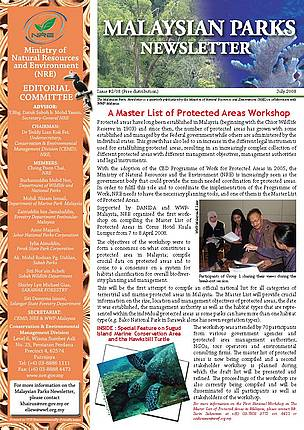 Malaysian Parks Newsletter Issue 02/08 (July 2008)