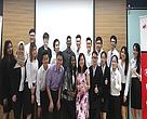 The students with (front row, from fifth from left) Mr SC Ooi from WWF-Malaysia, Ms Uma Muthusamy, Ms Suan Tan and Mr Clement Choe.