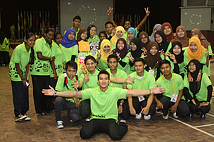 Politeknik Seberang Perai (PSP) students raised RM1,050 through EH2013 pledge and surveys.