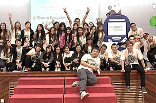 TAR UC students raised RM3,153 by recycling phones with Nokia and WWF-Malaysia.