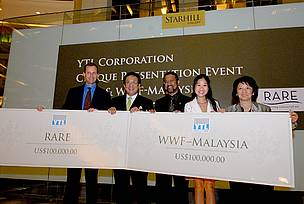 YTL Cheque Presentation Ceremony