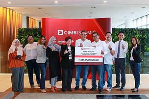 CIMB x WWF at Setiu Sponsorship Cheque Presentation