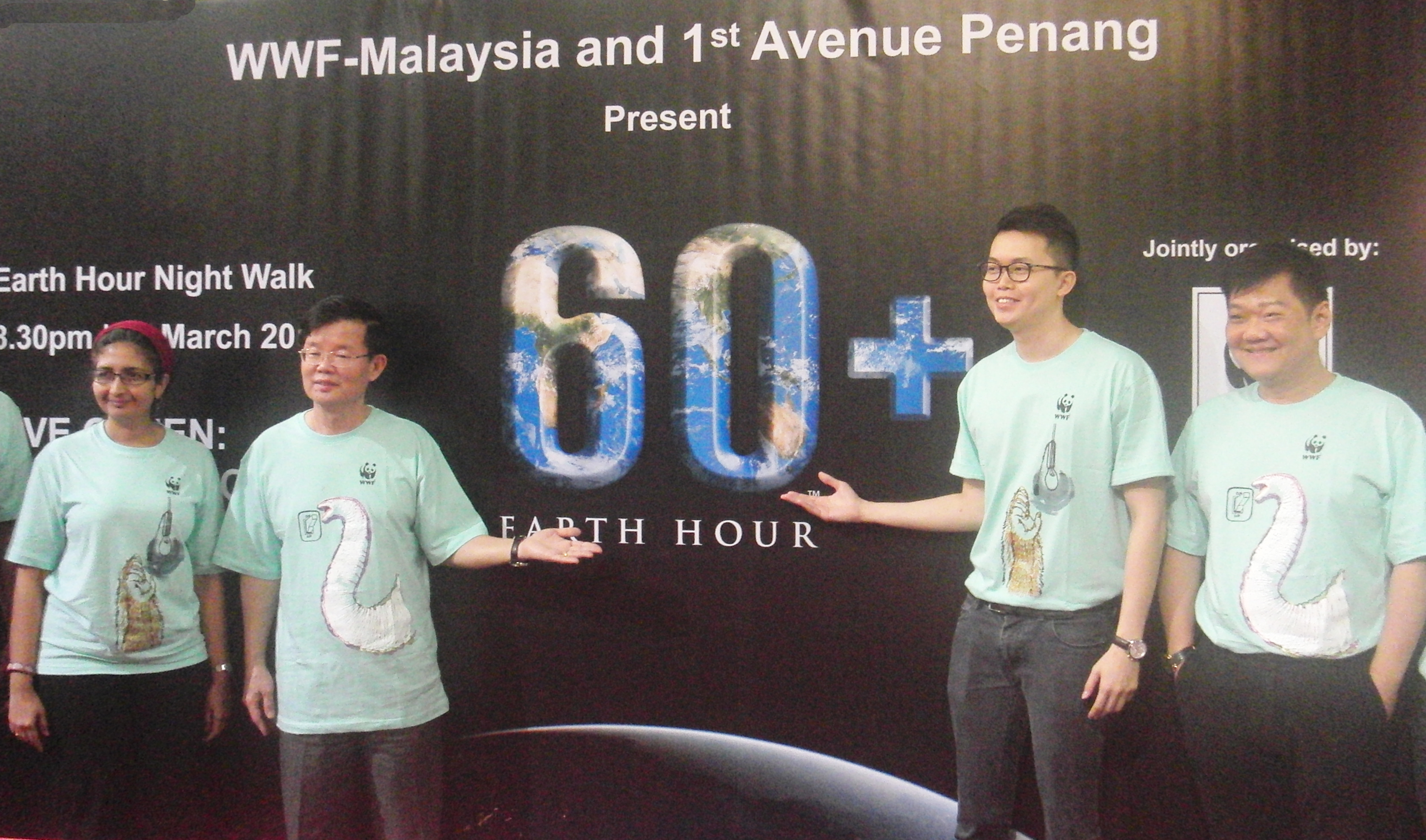 Earth Hour 2015 Kicks Off in Penang for the Second Time | WWF Malaysia